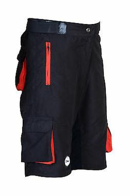 Zimco Pro Comfort MTB Mountain Bike Baggy Shorts with Lycra