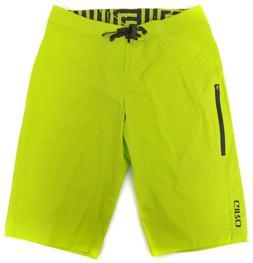 "Giro Roust Board Shorts Men 32"" Waist Drawstring Lime Green"
