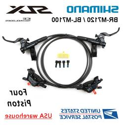 SHIMANO SLX BR-M7120 BL-M7100 Bike 4-Piston MTB Hydraulic Di