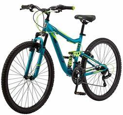 Mongoose Status 2.2 Womens Mountain Bike, 26-Inch Wheels, 21