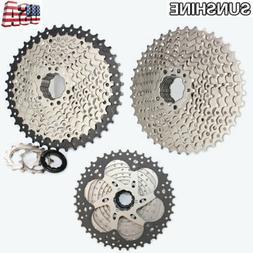SUNSHINE Steel 10 Speed 11-40/11-42T MTB Bike Cassette 10S F