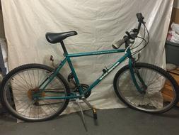 Mongoose Switchback Mountain Bike Green 26inch/SPENCO Saddle