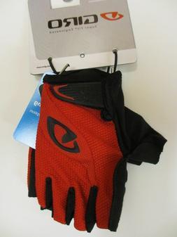 Giro Tessa gel Women's Mountain Bike Cycling Gloves Red/Blac