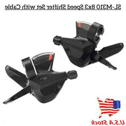 US 3x8 Speed Shift Lever Shifter Bike Bicycle Parts for Shim
