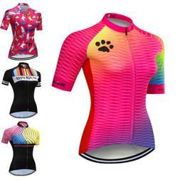 Weimostar Cycling Jersey Women Mountain Bike Jersey Summer S