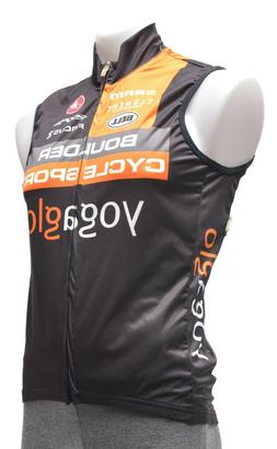 Castelli Wind Cycling Vest Men SMALL Black Road Cyclocross M