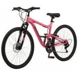 "Mongoose Women's 26"" Major Mountain Pro Bike Off Road Trail"