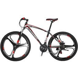 "27.5"" Mountain Bike  21 Speed Mens Bicycle Bike MTB Disc Bra"