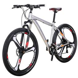 "29"" Aluminium Mountain Bike Disc Brakes Mens Bikes 21 Speed"
