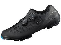 Shimano XC7 Carbon MTB Mountain Bike Shoes Black Wide Width