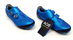 Shimano XC9 S-Phyre Carbon Mountain Bike Shoes, Blue, US 11.