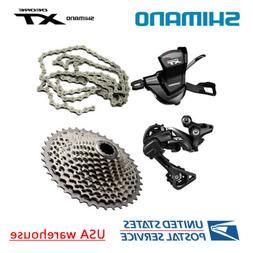 Shimano XT M8000 11 Speed Drivetrain Groupset 40T 42T 46T Ca