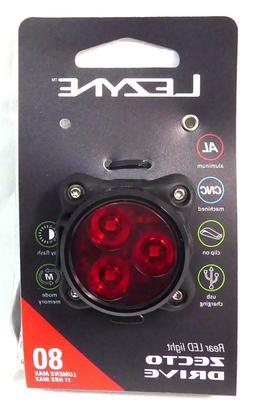 Lezyne Zecto Drive LED Rear 80 Lumens